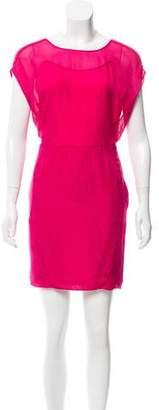 O'2nd Silk Mini Dress