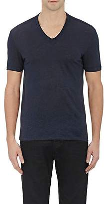 John Varvatos Men's Basic V-Neck T-Shirt - Dk. Blue