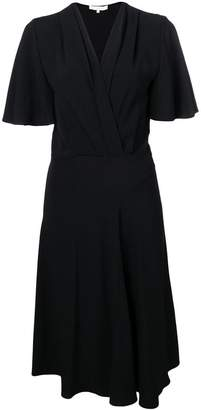 Vanessa Bruno flutter sleeve midi dress