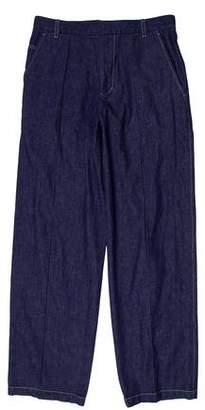 3.1 Phillip Lim Wide-Leg Five-Pocket Jeans
