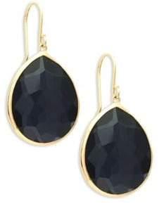 Ippolita Amethyst 18K Yellow Gold Teardrop Earrings