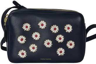 Mansur Gavriel Floral Embellished Shoulder Bag