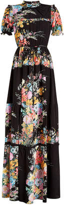 N°21 N21 Printed Silk Maxi Dress