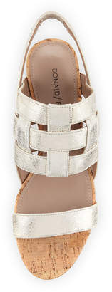Donald J Pliner Joela Caged Wedge Sandal