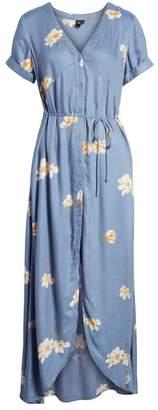 Volcom Good To Be You Floral Print Maxi Dress