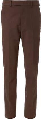 Kingsman Slim-Fit Stretch-Cotton Moleskin Trousers