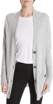 Brochu Walker Deconstructed Button Up Cashmere Cardigan