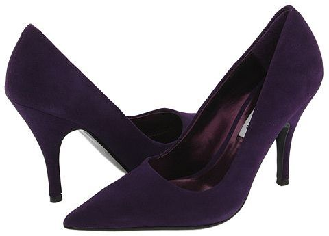 Steve Madden Arouse (Purple Suede)