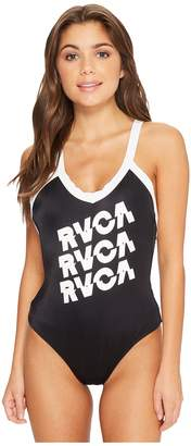 RVCA Real Talk One-Piece Women's Swimsuits One Piece