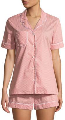 Derek Rose Nelson Cotton Shortie Pajama Set