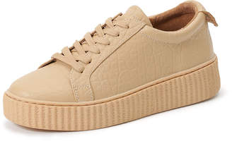 Australia Luxe Collective SUPERBA 厚底 レースアップスニーカー クリーム 5