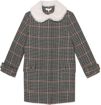Chloé Kids Check coat