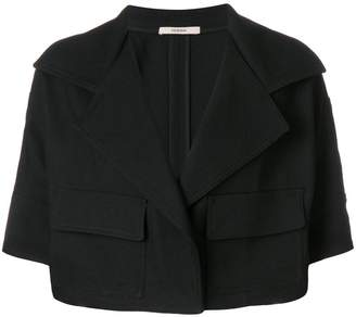 Odeeh cropped half sleeve jacket