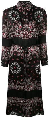 Amiri paisley print shirt dress