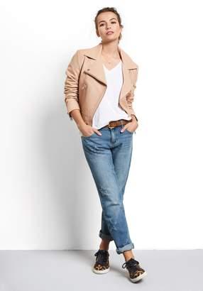 Hush Onyx Leather Jacket