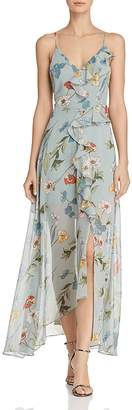 ASTR the Label Sienna Floral Print Maxi Dress
