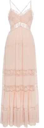 Rebecca Taylor Full Length Eyelet Dress $650 thestylecure.com