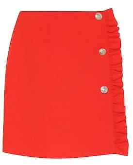 MSGM Crêpe miniskirt