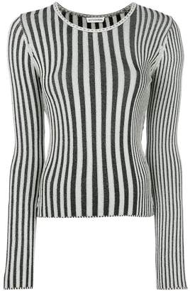 Altuzarra striped fitted sweater