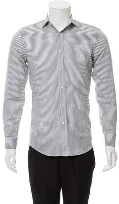 Ralph Lauren Black Label Striped Tailor Fit Shirt