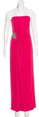 Laundry by Shelli Segal Embellished Strapless Dress w/ Tags