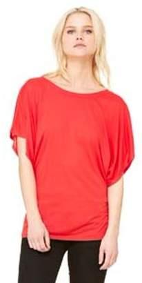 Bella + Canvas Ladies' Flowy Draped Sleeve Dolman T-Shirt