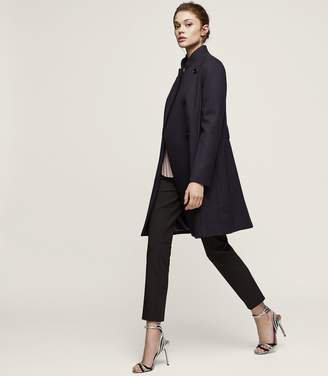 Reiss Lacey Longline Belted Coat