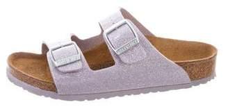Birkenstock Girls' Arizona Glitter Sandals