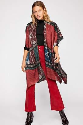 Mon Cheri Silky Patchwork Kimono
