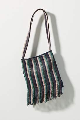 Anthropologie Alana Beaded-Tasselled Bag