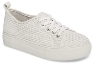 J/Slides Artsy Woven Platform Sneaker