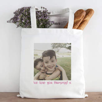 Hurley Sarah Personalised Photo Message Tote Bag