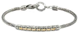 Dragon Optical DEVATA 18K Gold & Sterling Silver Scale Classic Bracelet