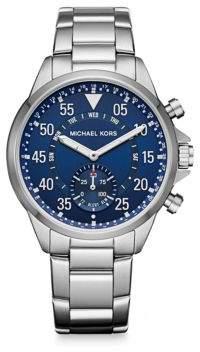 Michael Kors AccessGage Stainless Steel Hybrid Smartwatch