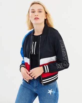 Tommy Jeans Colour Block Bomber Jacket