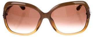 Salvatore Ferragamo Gradient Butterfly Sunglasses