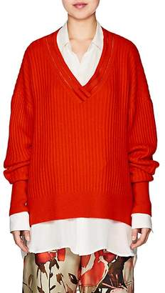 BY. Bonnie Young Women's Varsity Cashmere Sweater
