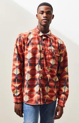 Billabong Furnace Polar Fleece Button Up Shirt