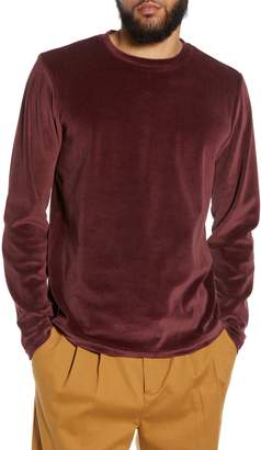 The Rail Velour Long Sleeve T-Shirt