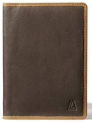 Leather Architect Men's 100% Leather RFID Blocking Passport Holder With 1 Slip-In Pocket