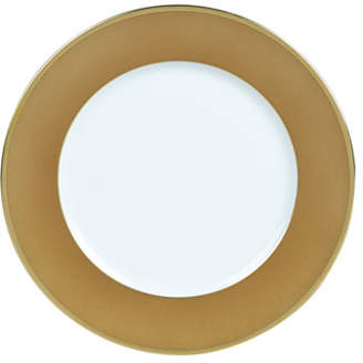 Haviland Color Block Bronze/Gold Bread & Butter Plate