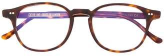 Cutler & Gross wayfarer frame glasses