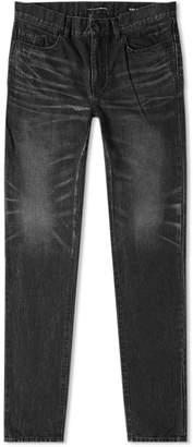 Saint Laurent Distressed Skinny Jean