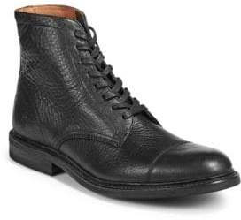 Frye Seth Cap Toe Leather Boots