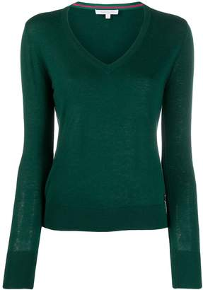 Patrizia Pepe relaxed-fit V-neck pullover
