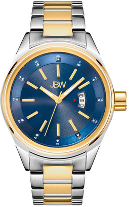JBW Men's Rook Diamond & Crystal Watch