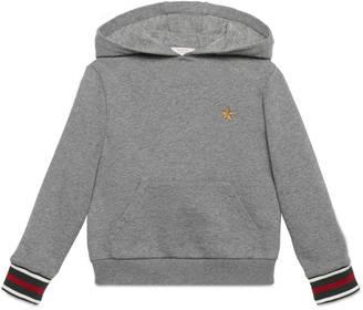 Children's cotton sweatshirt $255 thestylecure.com