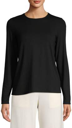 Eileen Fisher Stretch Long-Sleeve Top