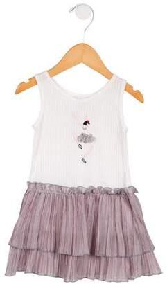 Sonia Rykiel Girls' Sleeveless Embroidered Dress