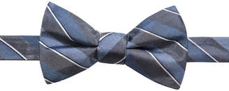 Ryan Seacrest Distinction Men's Matera Stripe Pre-Tied Bow Tie, Created for Macy's